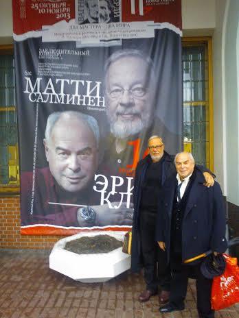 Eri Klas ja Matti Salminen Novaja Opera Moskova