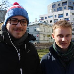 Valter Soosalu ja Benjamin Kirk räägivad oma eksam-kontserdist