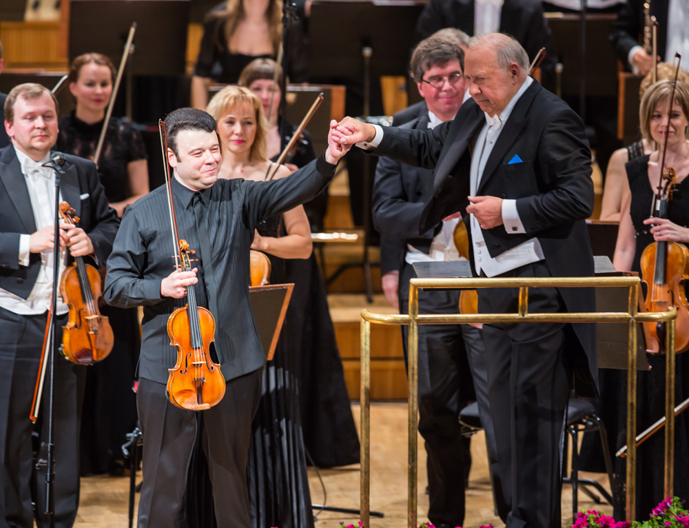 9.05.2014. ERSO, Vadim Gluzman ja Neeme Järvi. Foto Tiit Mõtus