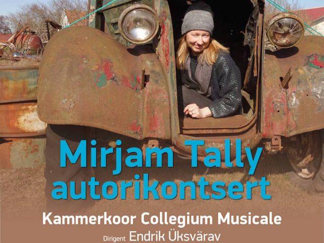 Mirjam Tally autorikontsert Kultuurikatlas