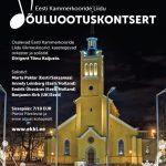 Kammerkooride liidu Jõuluootuskontsert Tõnu Kaljuste dirigeerimisel