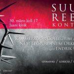 Suure Reede kontserdid Pärnus ja Tallinnas: eesti ja poola heliloojate muusika
