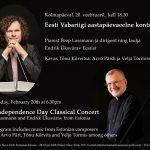 Endrik Üksvärav ja Peep Lassmann annavad USAs eesti muusikaga kontserte