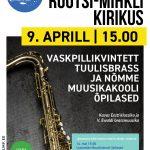 """Hingemuusika"" kontsert Rootsi-Mihkli kirikus"