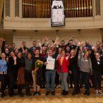 Tallinna rahvusvahelise koorifestivali võitis Carnikava segakoor Vēja Balss Lätist!