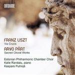 Eesti Filharmoonia Kammerkooril ilmus uus album Ferenc Liszti ja Arvo Pärdi teostega