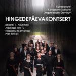 Collegium Musicale Hingedepäeva kontserdid Haapsalus ja Arvo Pärdi keskuses