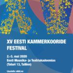 XV Eesti Kammerkooride Festival rõõmustab osalejate rohkusega